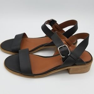 Lucky Brand Women's Toni Sandal Black Leather